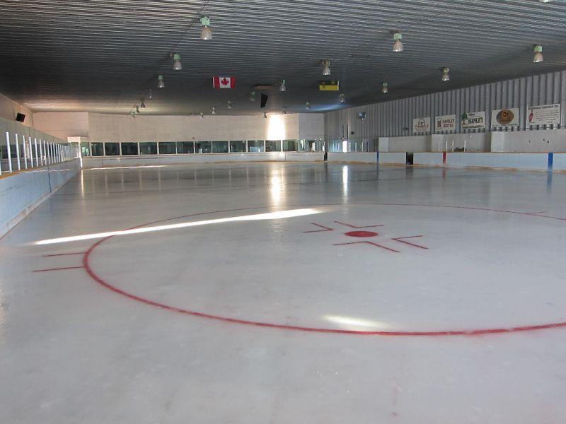 Ice Rink Inside