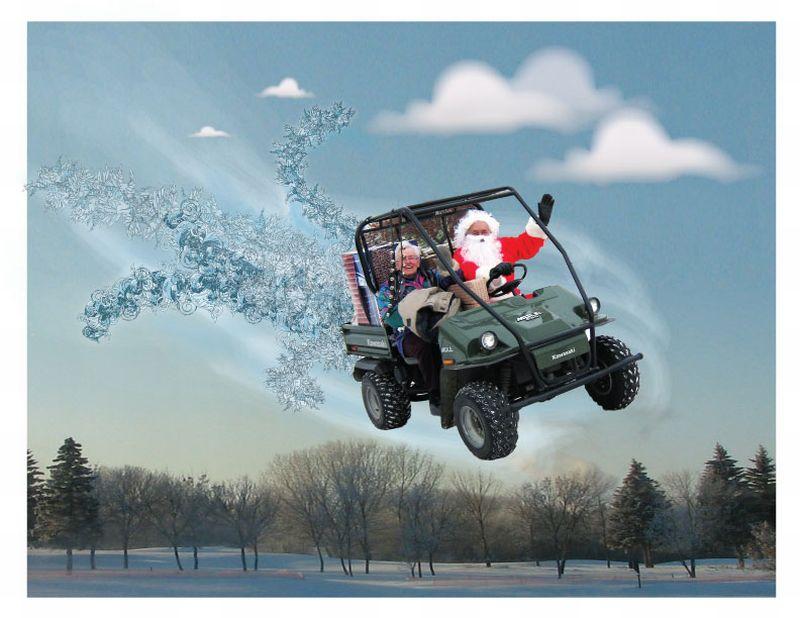 Santa-flying-high