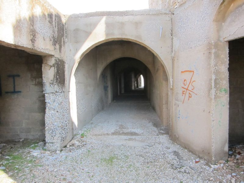Abandoned Resort tunnel