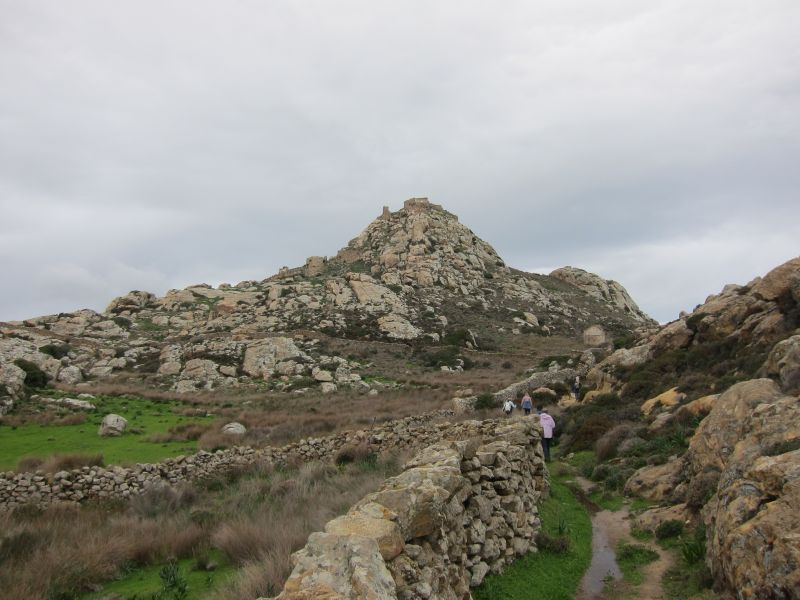 Hiking to Venetian Castle 1