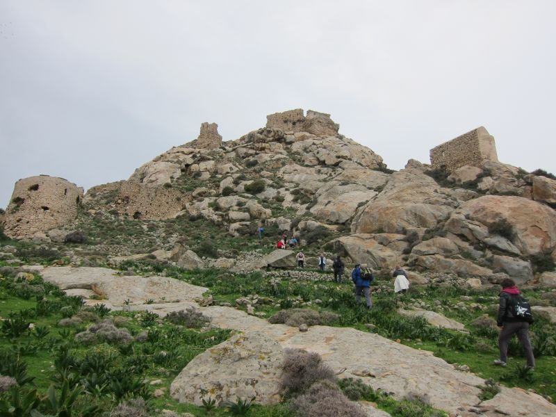 Hiking to Venetian Castle 3