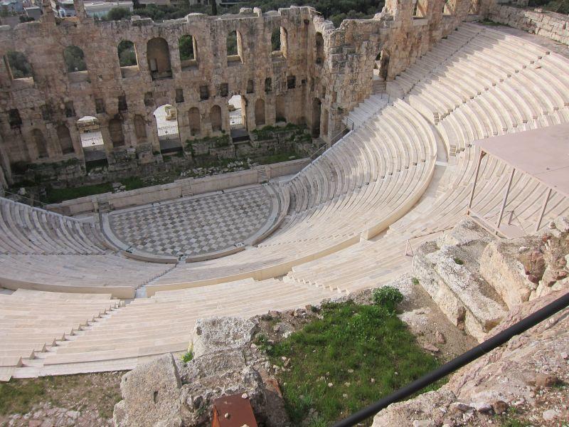 Roman theatre restored