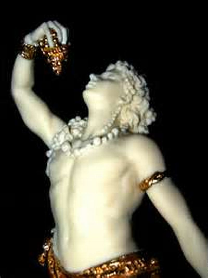 Dionysus God of Fertility and wine and divine intoxication
