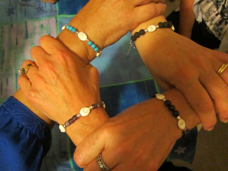 The Naxos Eyes bracelets