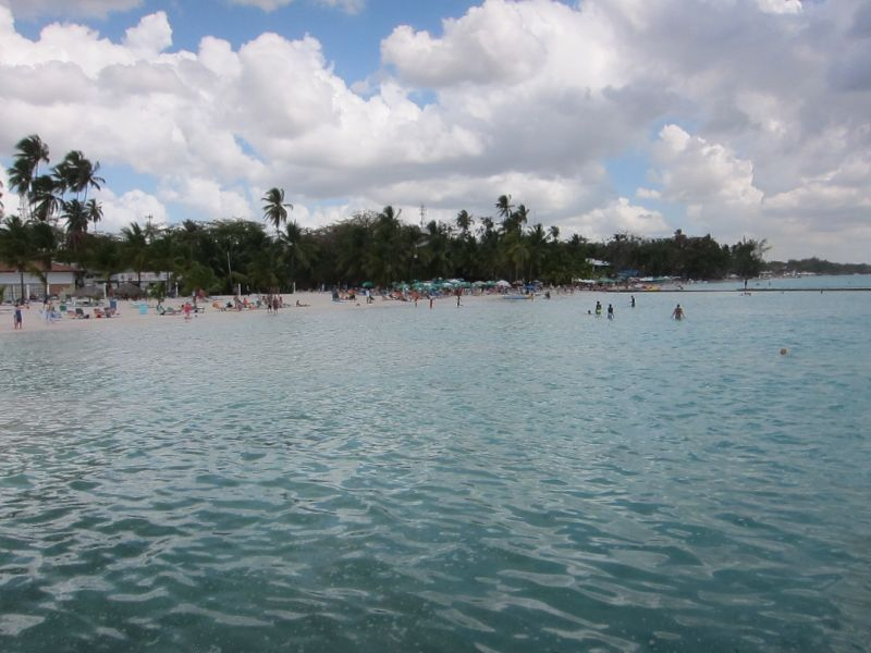 The beach at Boca Chica