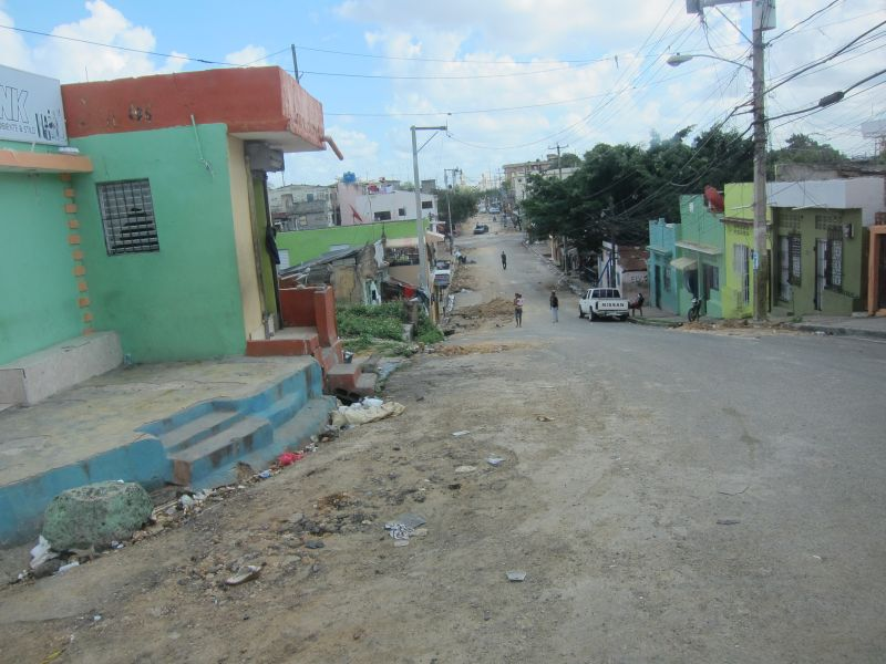 Side street in Santo Domingo