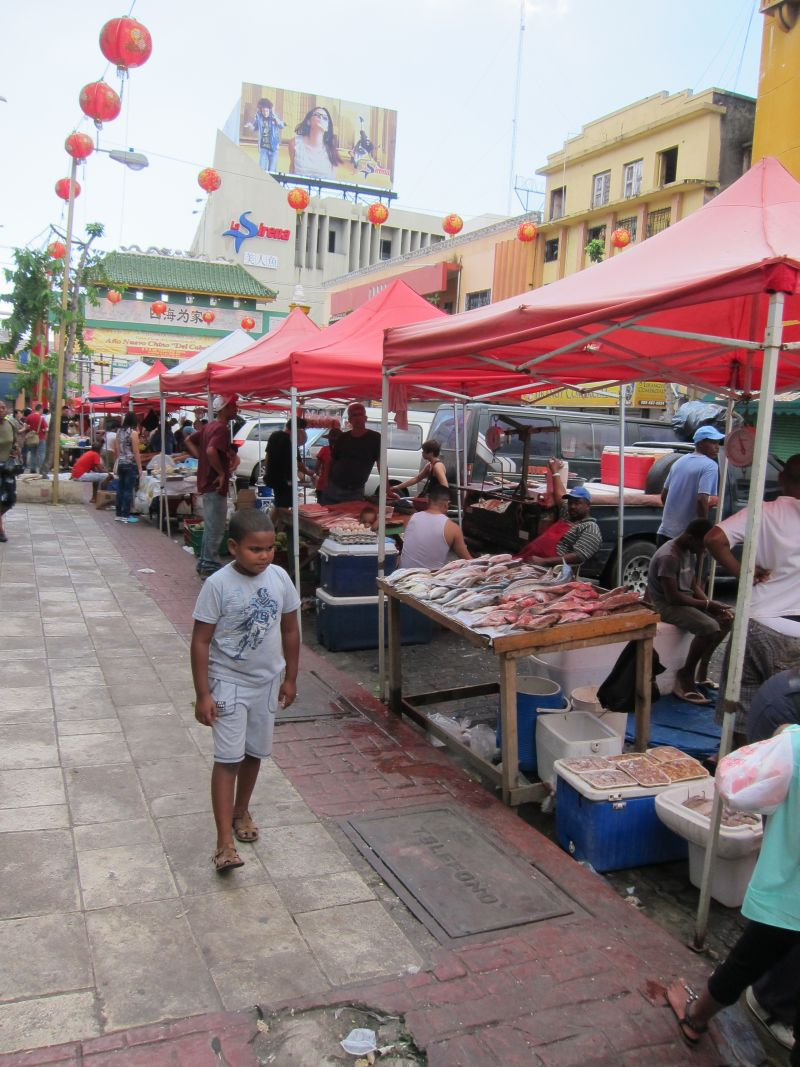 China town market in Santo Domingo