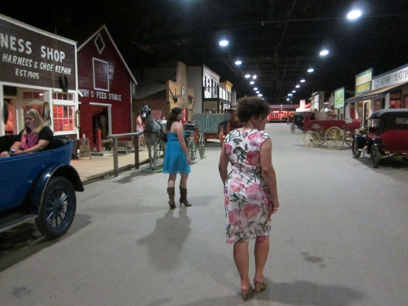 The Main Street of the Western Development Museum
