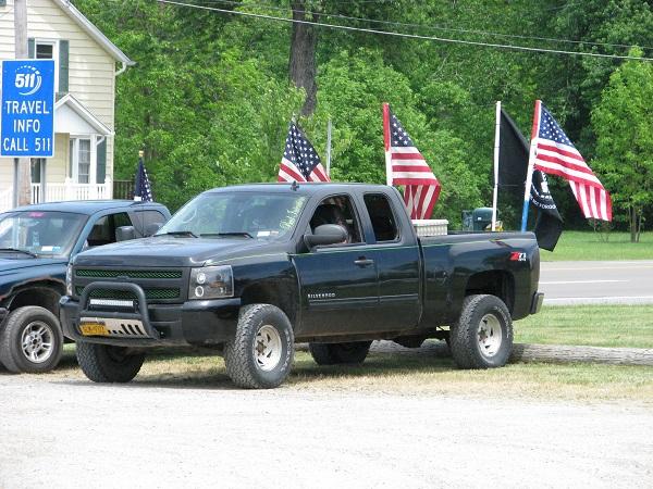 Memorial day truck