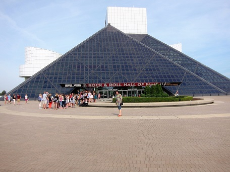 Rock and Roll Hall of Fame with Marilyn