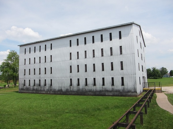 Bourbon storage building